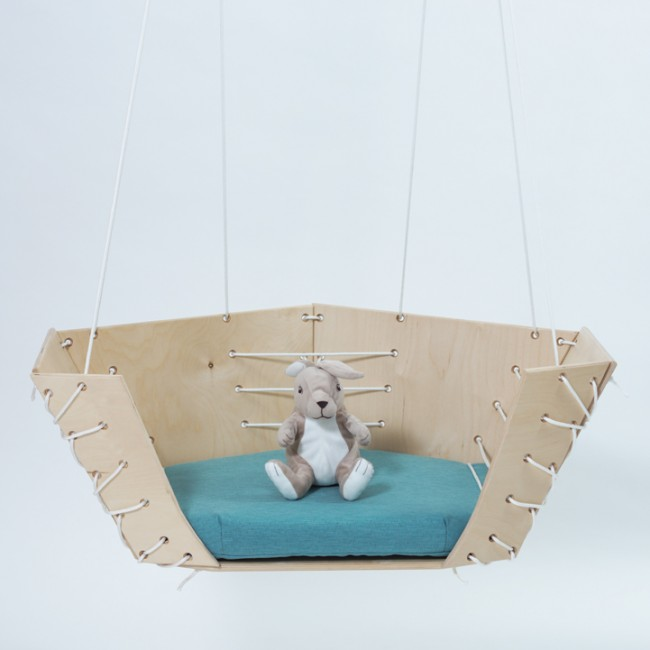 Floatie, hanging armchair and swing